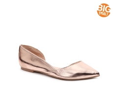 Journee Collection Cortni Metallic Flat