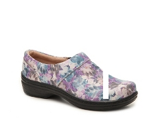 Klogs Mission Floral Work Clog