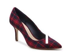 BCBGeneration Gaminkha Plaid Pump
