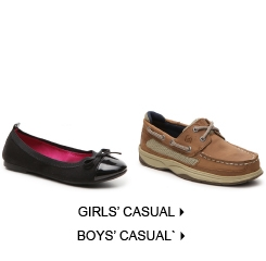 Kids' Casual & Flats