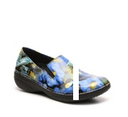 Spring Step Ferrara Watercolor Floral Work Clog