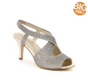 Bandolino Malorie Wishbone Glitter Sandal