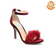 Betsey Johnson Nolte Velvet Sandal