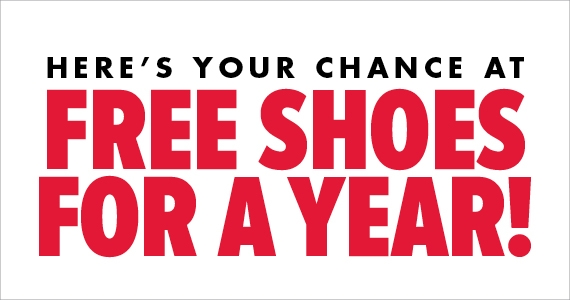 Free Shoes For a Year