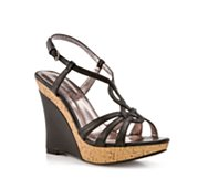 Charles by Charles David Luck 2 Black Wedge Sandal
