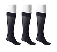 Anne Klein NY Trouser Sock, 3 Pack