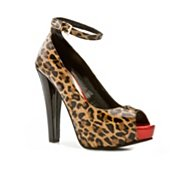 G by GUESS Crimson Leopard Pump