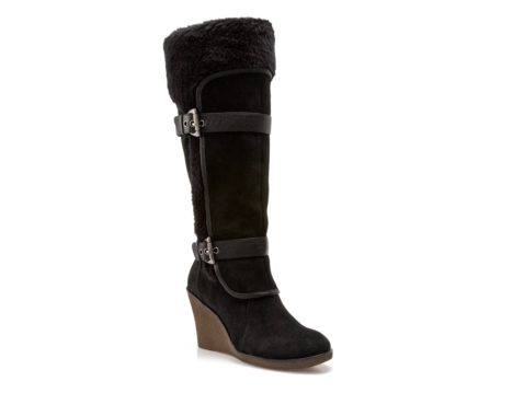 bare traps wedge boot dsw