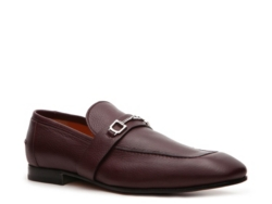Gucci Pebbled Leather Horsebit Loafer
