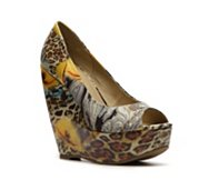 Zigi Soho Rush Printed Wedge Pump