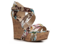 G by GUESS Prinzess Printed Wedge Sandal