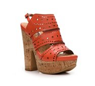 Two Lips Sway Split Wedge Sandal