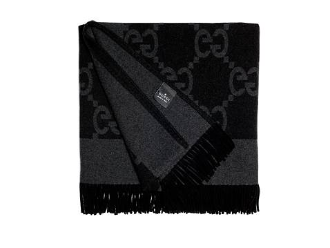 Gucci Luxury Black Throw Blanket Dsw