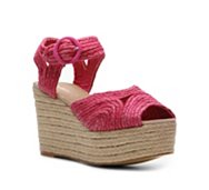 Pink Duchess Jeannie Wedge Sandal