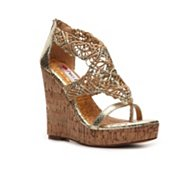 Two Lips Treasure Wedge Sandal