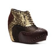 Irregular Choice What An Angel Reptile Bootie