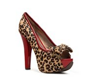 Naughty Monkey Isla Bonita Leopard Pump