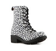 Big Buddha Amber Leopard Boot