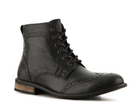 red tape cowboy wingtip boot  dsw