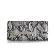 Poppie Jones Reptile Bar Clutch