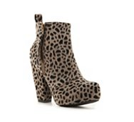 Big Buddha Julie Cheetah Bootie