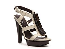Calvin Klein Collection Kelly Leather Bead Sandal