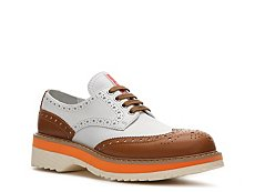 Prada Leather Wingtip Oxford