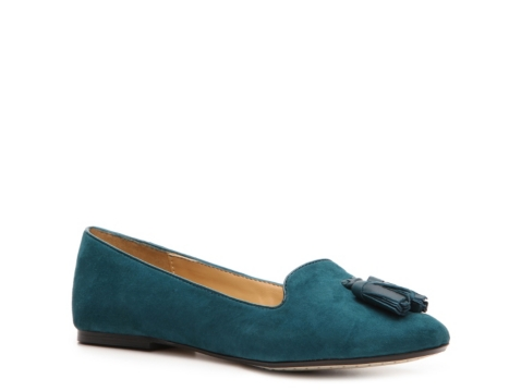 nine west parsel suede flat dsw
