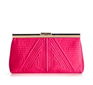 Lulu Townsend Quilted Frame Clutch
