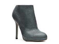 Sergio Rossi Pebbled Leather Bootie