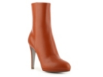 Sergio Rossi Leather Platform Bootie