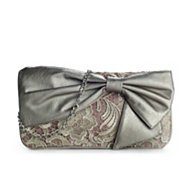Poppie Jones Bow Lace Clutch
