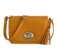 Kelly & Katie Tassel Flap Mini Crossbody Bag