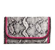 Poppie Jones Chain Oversized Clutch