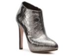 Giuseppe Zanotti Metallic Reptile Leather Ankle Bootie