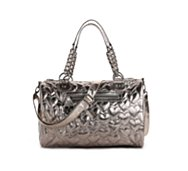 Betsey Johnson Metallic Speedy Satchel