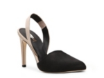 Calvin Klein Collection Dyra Nubuck Slingback Pump
