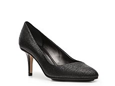 Calvin Klein Collection Raja Metallic Tweed Pump