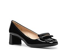 Prada Patent Leather Kiltie Pump