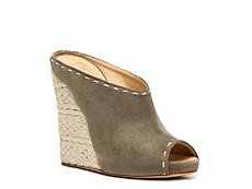 Giuseppe Zanotti Nubuck Leather Wedge Sandal