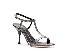 Giuseppe Zanotti Metallic Leather Ankle Strap Sandal