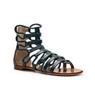 Giuseppe Zanotti Leather Gladiator Flat Sandal