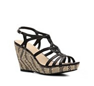 Kelly & Katie Tanya Zebra Wedge Sandal