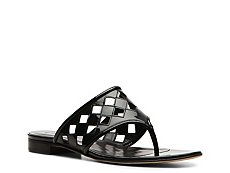 Bally Lollo Leather Cutout Sandal