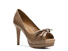 Elie Tahari Laverna Patent Leather Bow Pump