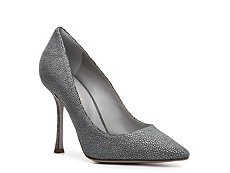 Sergio Rossi Stingray Suede Pump