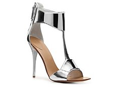 Giuseppe Zanotti Metallic Leather Plated Sandal