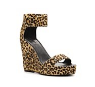 Matiko Boston Leopard Wedge Sandal