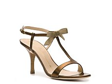 Giuseppe Zanotti Metallic Leather Bow Sandal