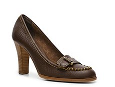 Bally Zamira Leather Buckle Pump